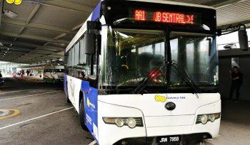 AA1 Senai International Airport and JB Sentral Shuttle Bus